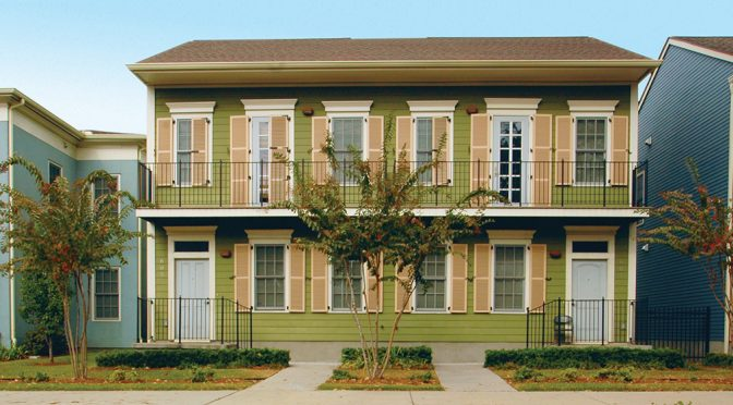 Rebirth: Faubourg Lafitte is Colorful Addition to New Orleans Housing