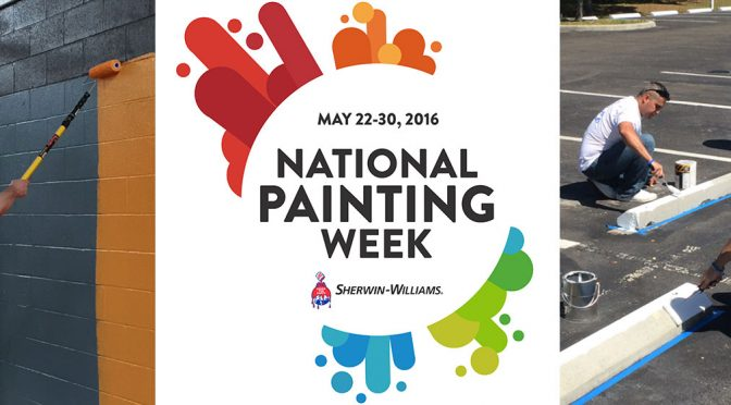 National Painting Week: Join Paint Pros Helping Out