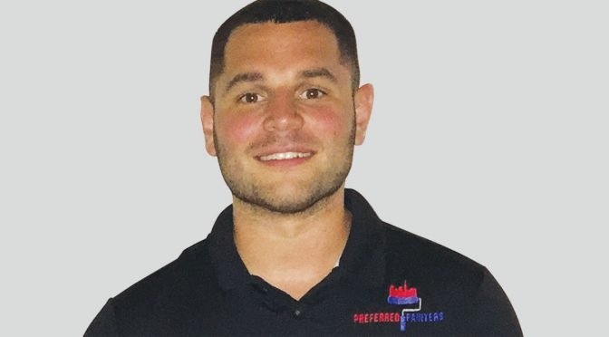 photo of Ed Stiefel, principal of Preferred Painters