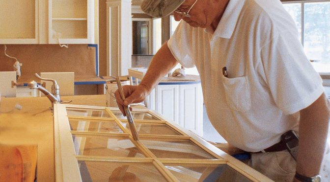 Best Practices: Painting Previously Stained Cabinets