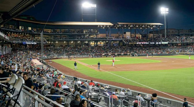 nation's newest triple-A baseball franchise gets an impressive new $50 million field