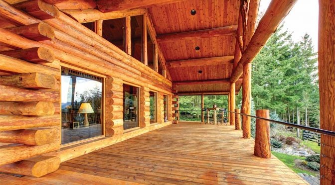Best Practices for Re-Staining Log Cabins