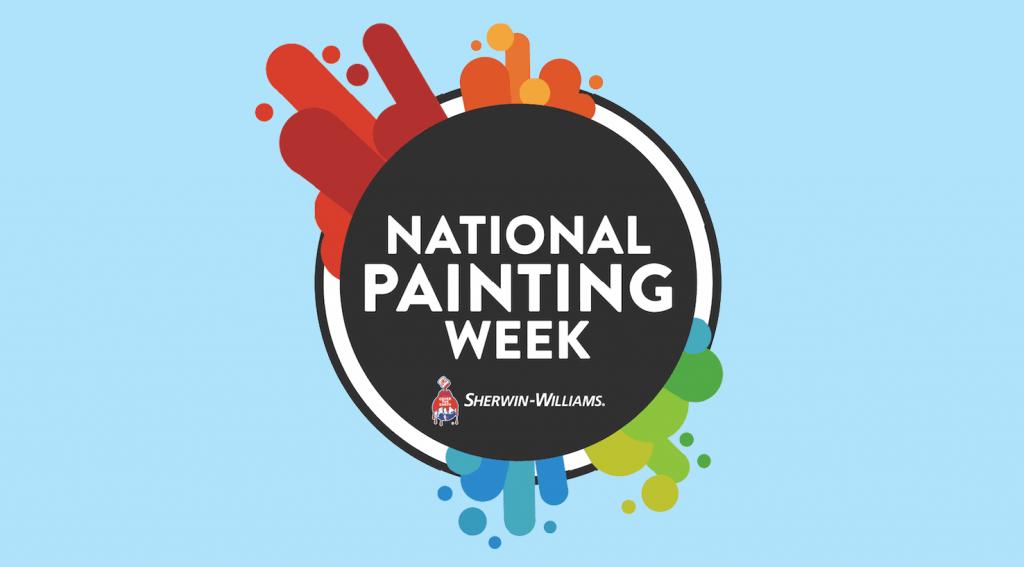 National Painting Week logo