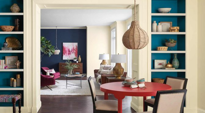 Colormix 2018: The Hottest Trends in Paint Colors
