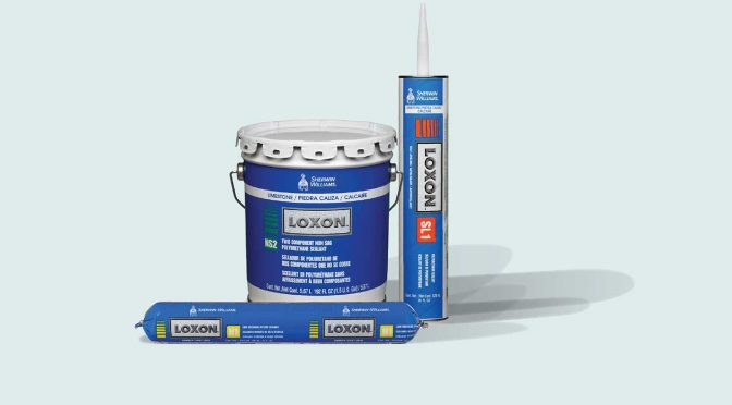 group of Loxon sealing products