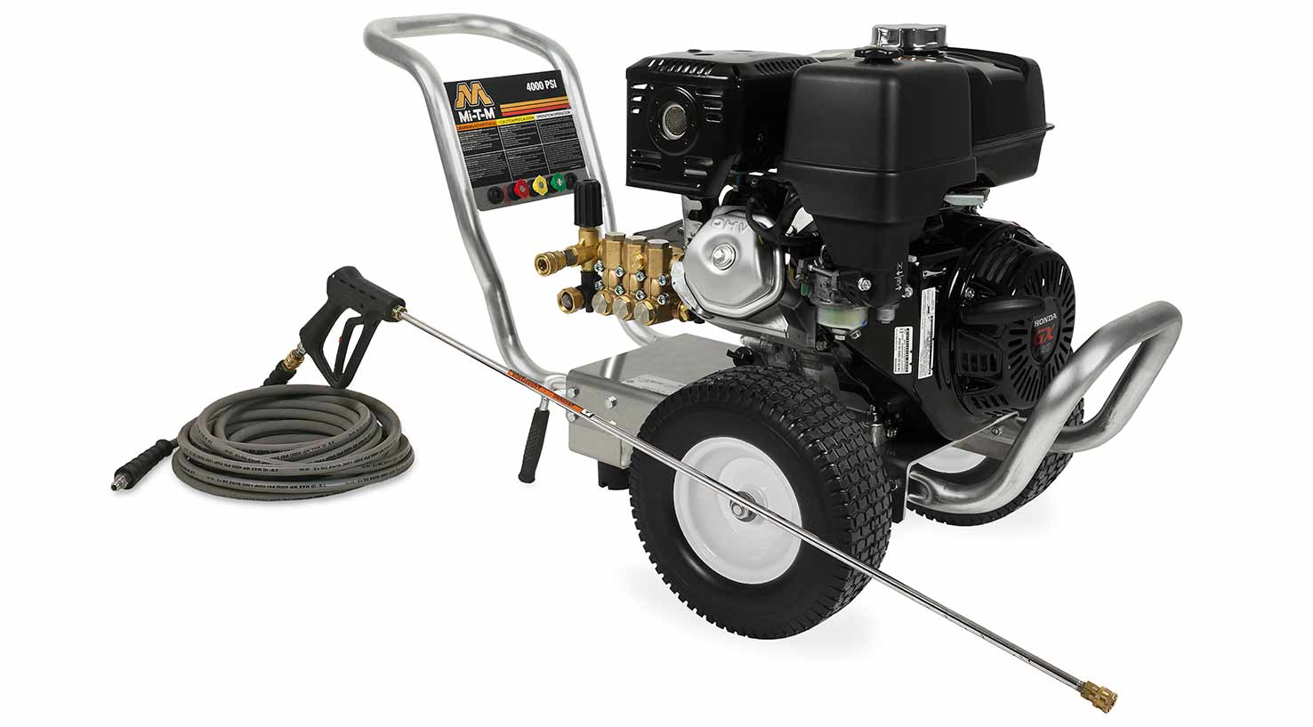 Mi-T-M Work Pro Series cold water pressure washer