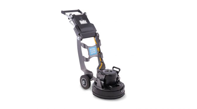 Helix planetary floor grinder and polisher from National Flooring