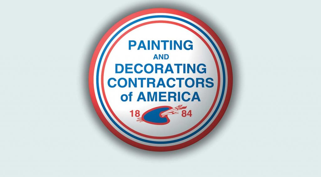 professional association logo for painting and decorating contractors of America
