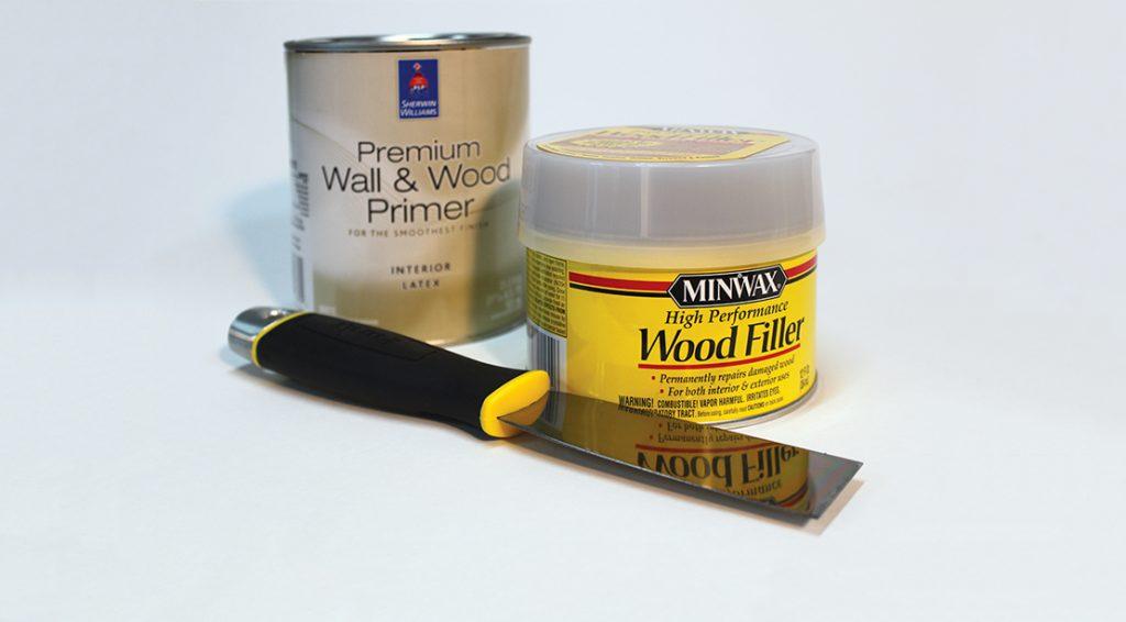 Premium Wall & Wood Primer and Wood Filler
