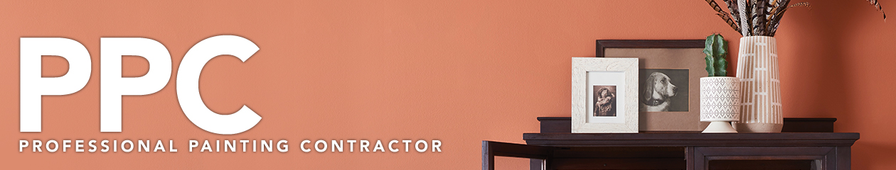 Professional Painting Contractor logo and header for fall 2018 issue