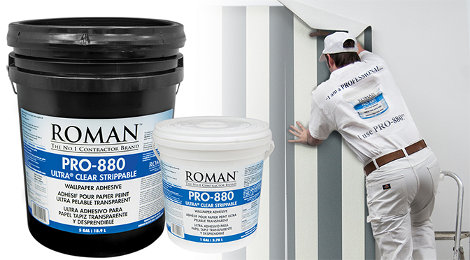 Summer 2019 advertorial image - ROMAN - PRO-880 Ultra Clear Strippable