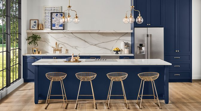 The 2020 Color of the Year: A Rich Navy Hue with a Hint of Opulence