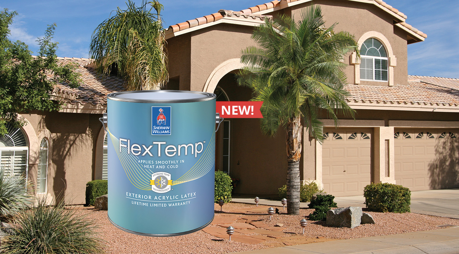 Extend Your Painting Season with FlexTemp<sup>™</sup> Exterior Acrylic Latex
