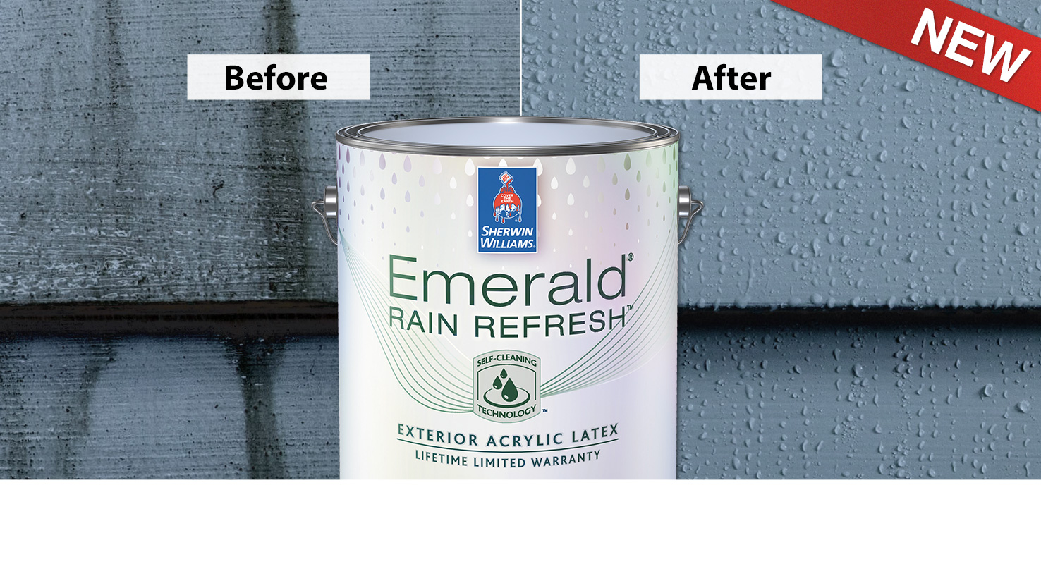 Premium Product for Premium Customers: A New Exterior Paint with Self-Cleaning Technology