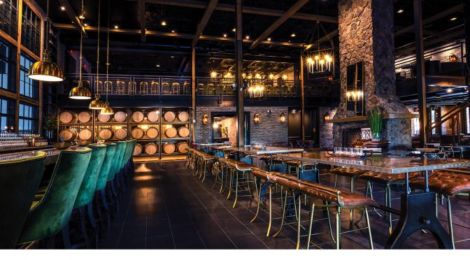Egan Painting Achieves Dramatic Results at 14,000 Square Foot Distillery