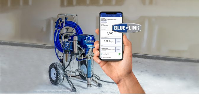 Get Productivity Reports and Real-Time Sprayer Info Anywhere, Any Time, with Graco BlueLink