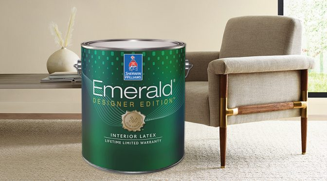 The Highest Level of Interior Paint: Emerald<sup>®</sup> Designer Edition™