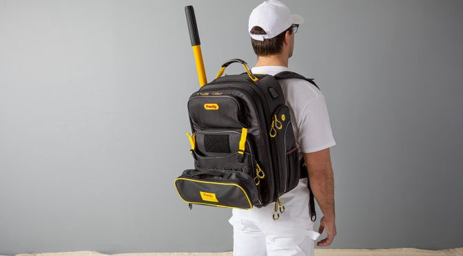 The First Painter's Backpack Designed By Pros, For Pros