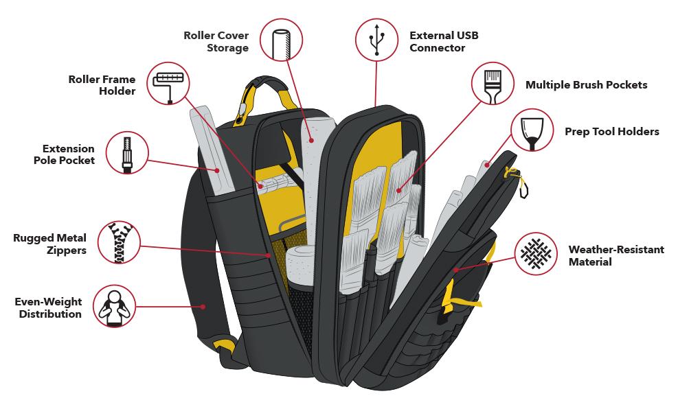 Purdy Backpack Illustration