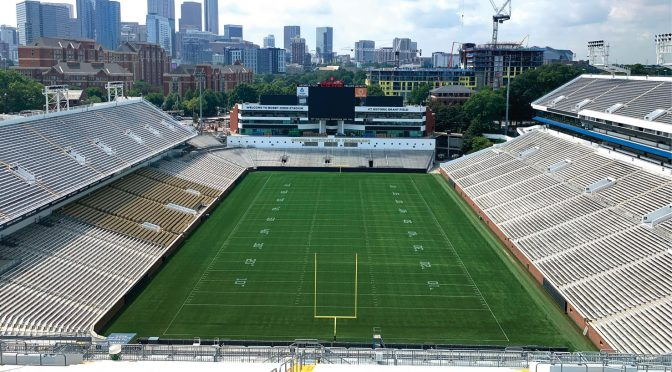 Game On! Tackling the Georgia Tech Stadium Repaint