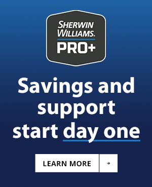 Sherwin-Williams Pro+ Banner Ad