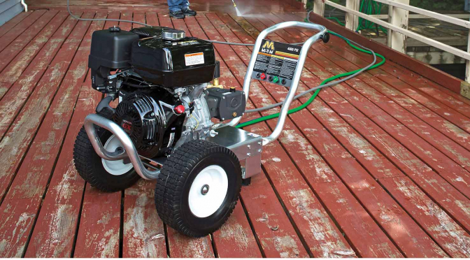 Pro Tips: Picking a Pressure Washer