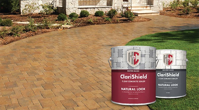 H&C<sup>®</sup> ClariShield<sup>®</sup> Natural Look Clear Concrete Sealers